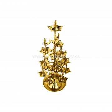 Fancy Brass Oil Lamp