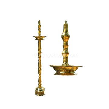 Brass Oil Lamp Koomb Model