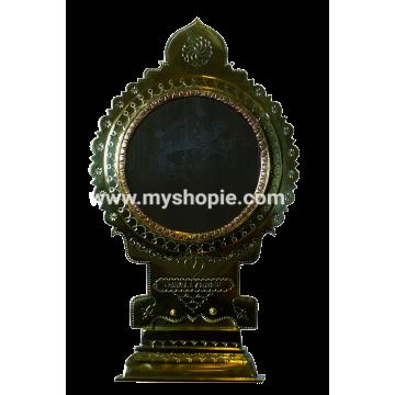 Round Base Aranmula Kannadi 4 inch