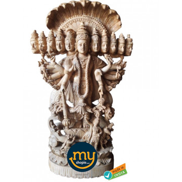 Viswaroopam Handicraft Wooden Sculpture