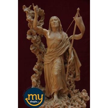 Jesus Christ Handicraft Wooden Sculpture