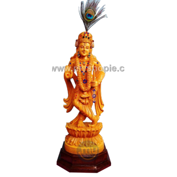 Shri Krishna Sculpture with...