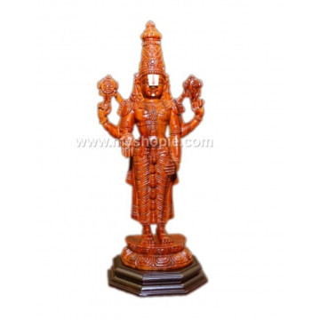 Sri Venkateshwara Handicraft Wooden Sculpture