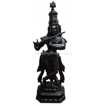 Load Srikrishna Handicraft Wooden Sculpture