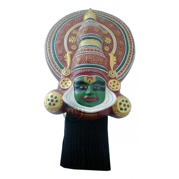 Kathakali Face Fiberglass Home Decor