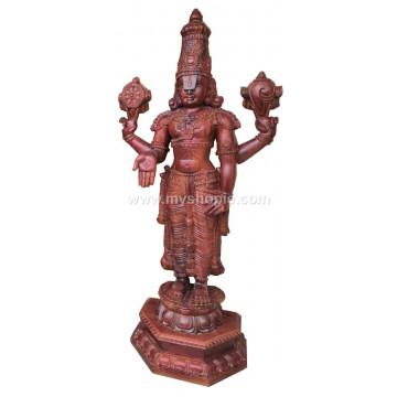 Sri Venkateshwara Handicraft Wooden Sculpture