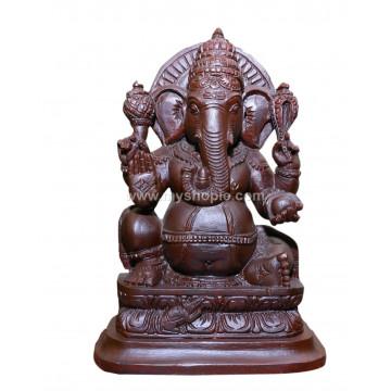 Ganesh Handicraft Wooden Sculpture