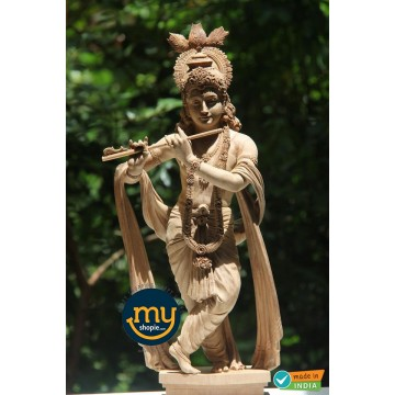 Srikrishna Handicraft Wooden Sculpture