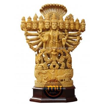 Viswaroopam with Mahabharata Story Sculpture