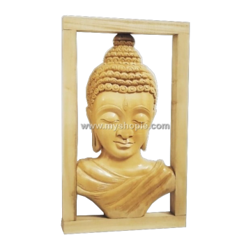 Wooden Wall Hanging Buddha