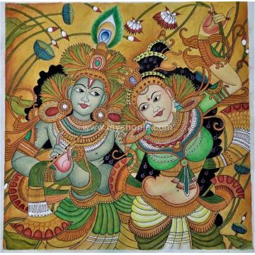 Radhamadhavam Kerala Mural Painting
