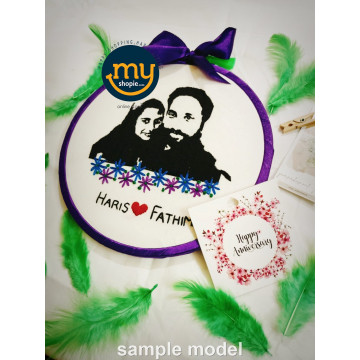 Custom Portrait Embroidery...