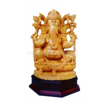 Prabha Ganapathy Sculpture 18 inch