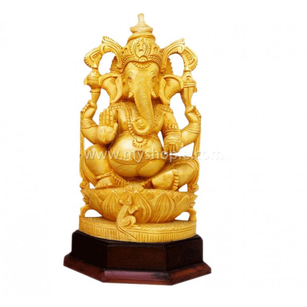 Ganesha Special Statue with Lotus