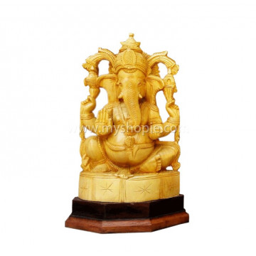 Ganesha Statue without Lotus