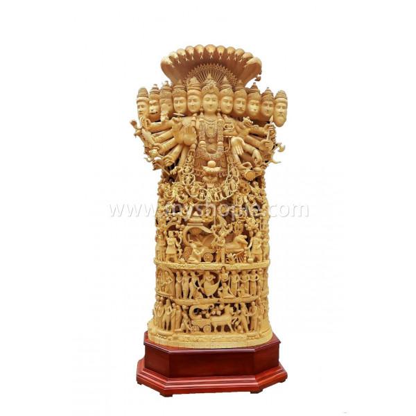Viswaroopam with Mahabharata Story Statue 6 feet