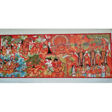 Culture of Kerala Mural Painting