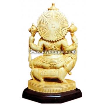 Ganpati with Rat Sculpture