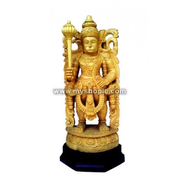 Hanuman Wooden Sculpture