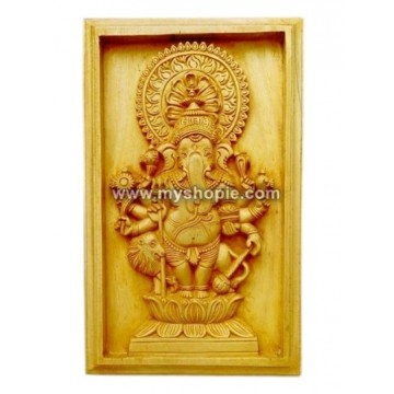 Ganapathi Square panel Door Design