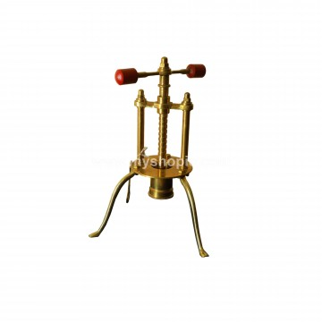 Brass Sevanazhi with 3 legs
