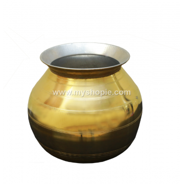 Brass Kalam with Tin Coat (Pongal Kalam)