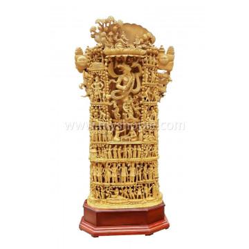 Viswaroopam with Mahabharata Story Statue 6 feet (Back Side)