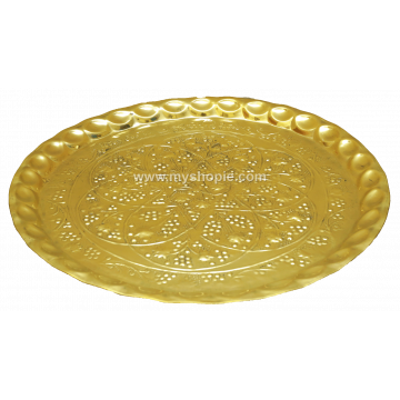Brass Decorative Plate