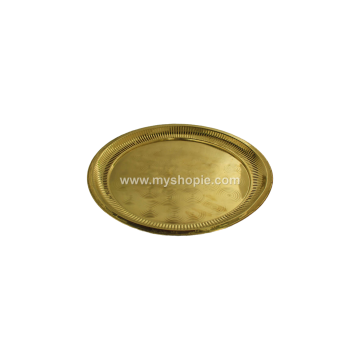 Brass Pooja Plate-Taalam