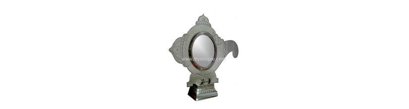 Myshopie.com | Aranmula Kannadi | Temple Shangu