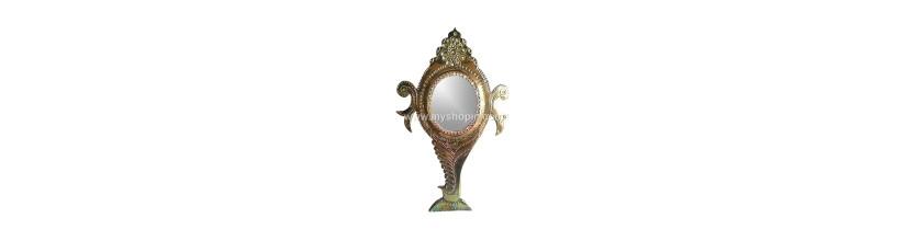 Myshopie.com | Aranmula Kannadi | Oval Shangu