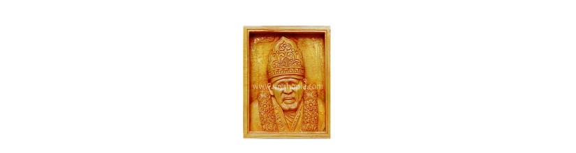 Myshopie.com | Handicraft Wooden God Statue |Shirdi Sai Baba