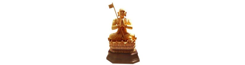 Myshopie.com | Handicraft Wooden God Statue |Sri Ramanuja