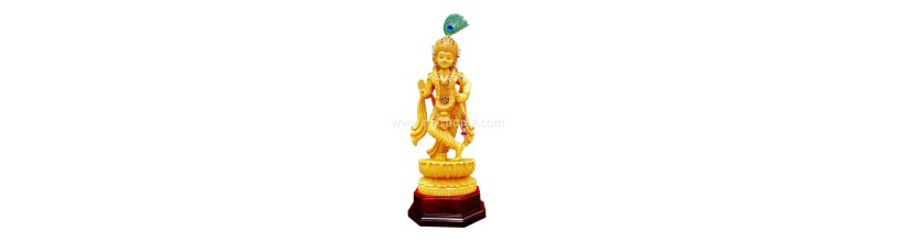 Myshopie.com | Handicraft Wooden God Statue |Sri Krishna